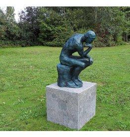 Eliassen Skulptur Bronze Der Denker von Rodin klein