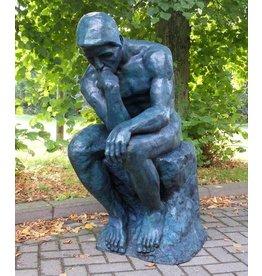 Eliassen Skulptur Bronze Der Denker von Rodin groß