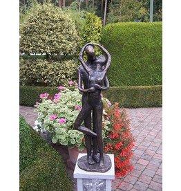 Eliassen Großes küssendes Liebespaar des Bildes Bronze