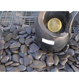 Dichtung grauen Felsbrocken Flach 2 Größen