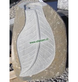 Eliassen Waterornament Leaf Basalt