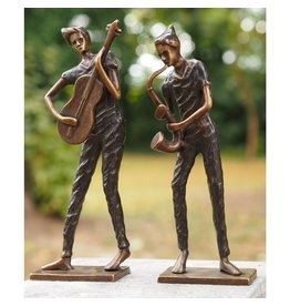 Eliassen Image Bronze moderne Musiker