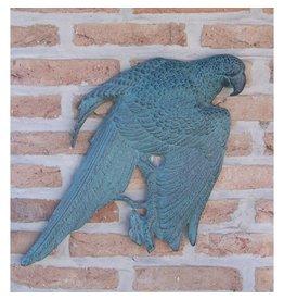 Muurdecoratie brons Ara