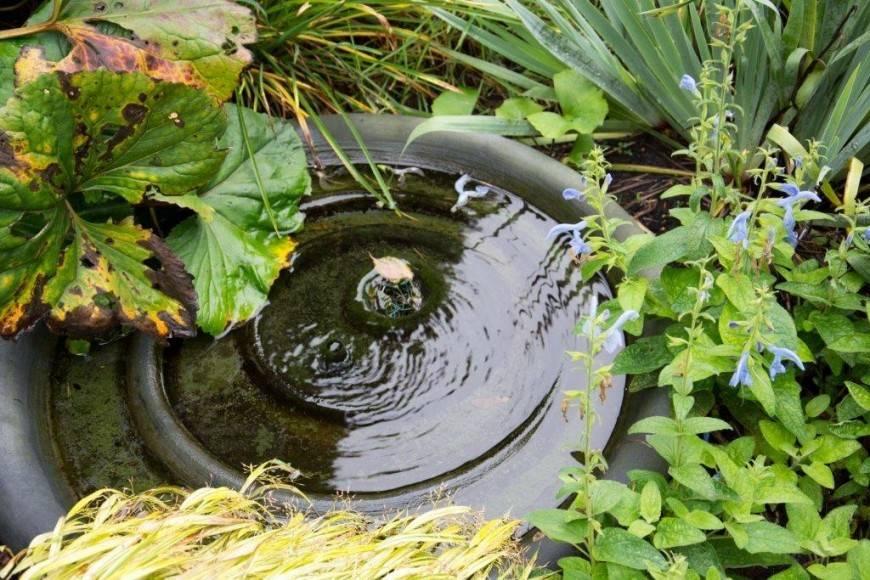 brunnenschale 80cm eliassen home garden pleasure. Black Bedroom Furniture Sets. Home Design Ideas