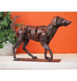 Eliassen Figur rennender Hund