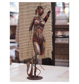 Figuur dame relaxend