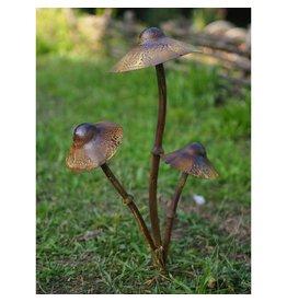 Eliassen Gartenstab Pilz 3 Stück