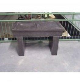 Werktafel/aanrecht/waterplaats hardsteen