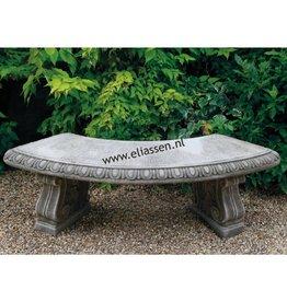 dragonstone Gartenbank mit klassischen Beinen gebogen