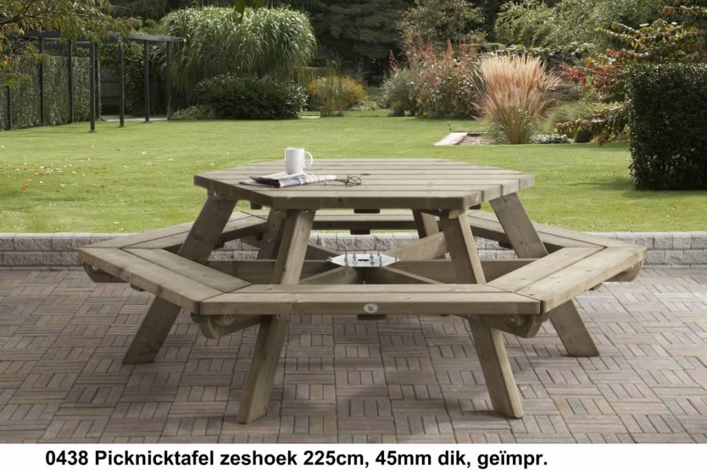 Talen Staphorst Picknicktisch Sechseck