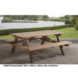 Picknick Hartholz 2 Größen