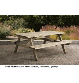 Picknicktafel Talen 180cm