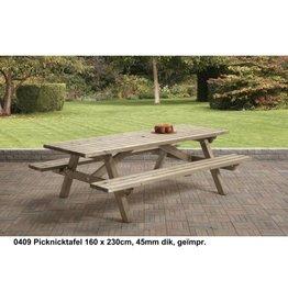 Picknicktafel 230cm ook andere maten