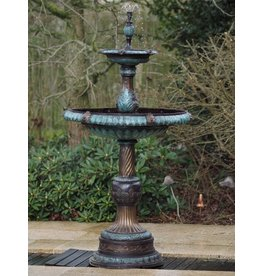 2 Schalen Bronzebrunnen