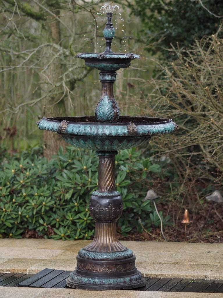 Eliassen Brunnen Bronze 2-scale Brunnen