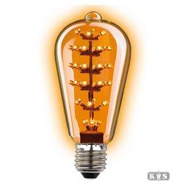 Rustikal LED-Lampe