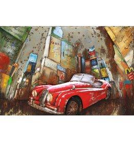 3-D-Malerei Stadt