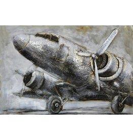 3-D painting Flug