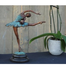 Ballerina 32 cm Bronze