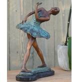 Ballerina 31 cm Bronze