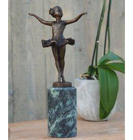 Eliassen Skulptur Bronze Tänzerin Mädchen Kunst
