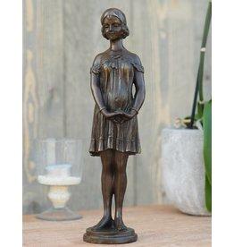 Eliassen Beeld brons vrouw art