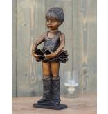 Ballerina 37 cm Bronze