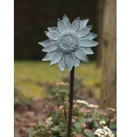 Sonnenblume auf Stick Bronze