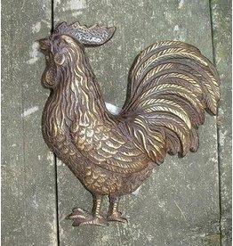 Türklopfer Hahn Bronze