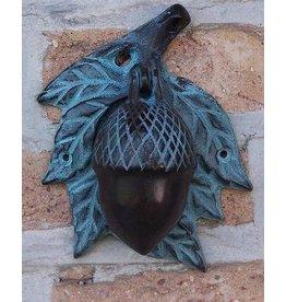 Deurklopper brons eikel