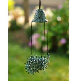 Eliassen Windgong brons met zonnetjes