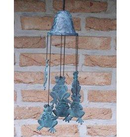 Eliassen Windgong brons met kikkers