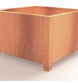Adezz Corten-Stahl Andenblumenkasten mit den Beinen