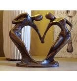 Eliassen Kleines abstraktes Tanzpaar des Bildes Bronze