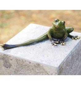 Eliassen Beeld brons kikker met gestrekt been