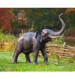 Eliassen Beeld brons olifant slurf omhoog