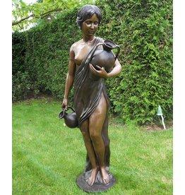 Bronzen beeld Antonia klein