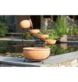Ubbink Waterval element Ubbink terracotta 2 maten