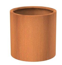 Adezz Cylinderpot Atlas Adezz cortenstaal