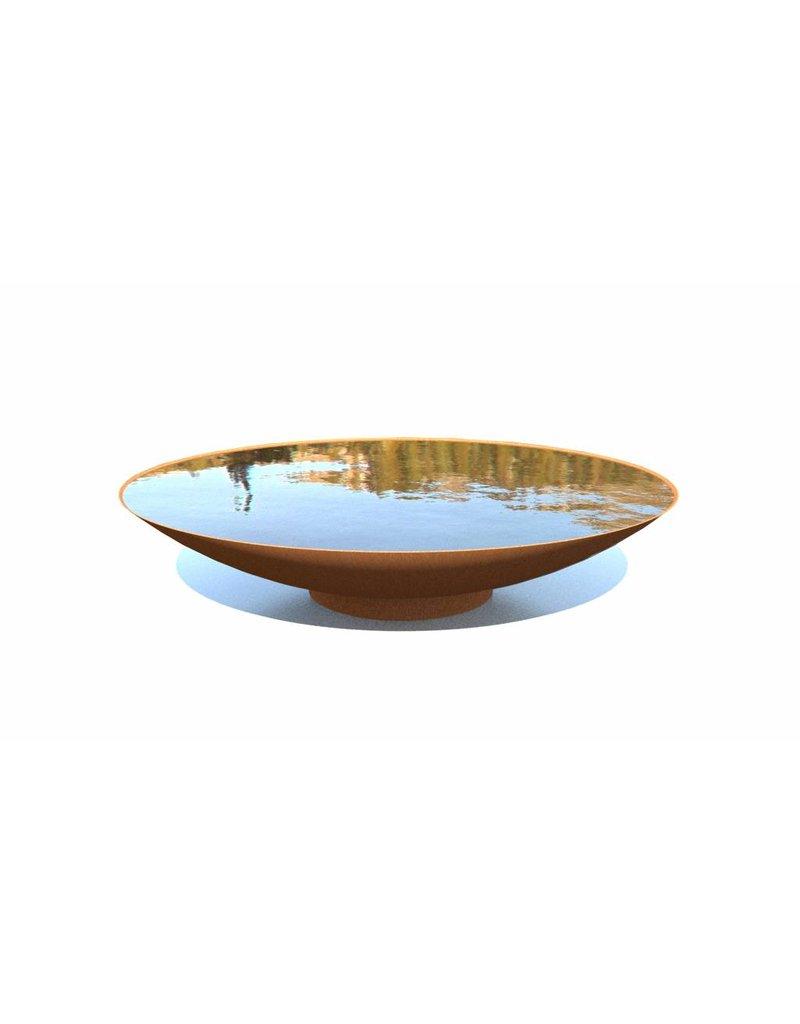 Adezz Wasserschalen Corten-Stahl in 5 Größen adezz