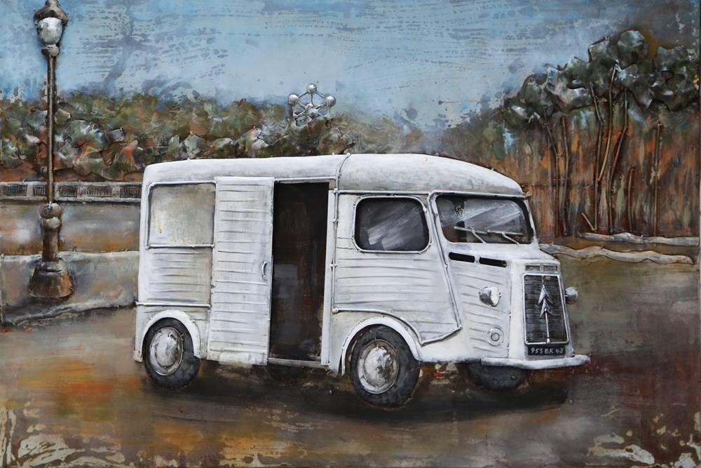3 D Malerei Zitrone HY-Bus