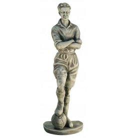 Tuinbeeld voetballer