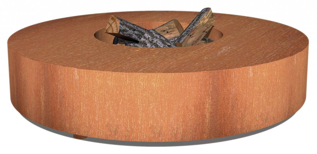 Adezz fire round table in 2 sizes adezz for Table 80x120