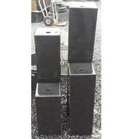 Eliassen Schwarzer Granitsäulen 4 Größen