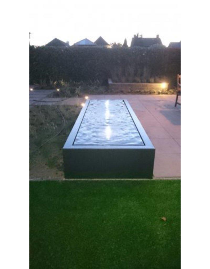 Adezz Grundwasserspiegel Rechteck Aluminium in 3 Größen adezz