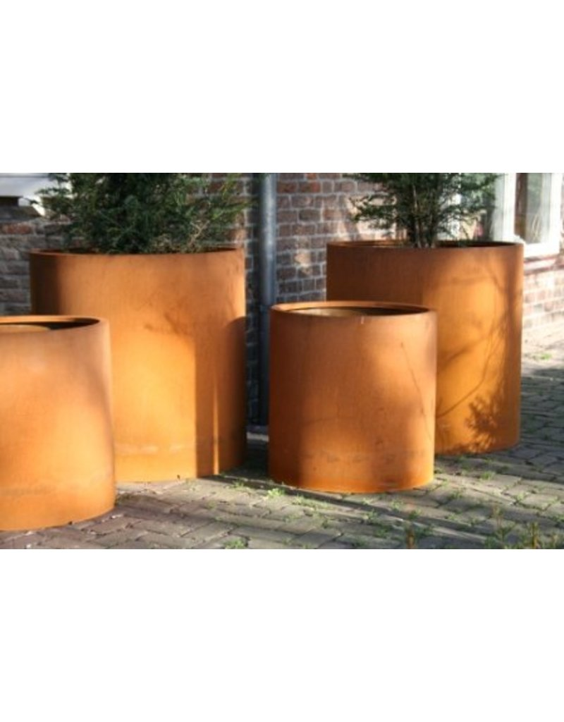 Adezz Corten-Stahl cylinderpot Atlas adezz