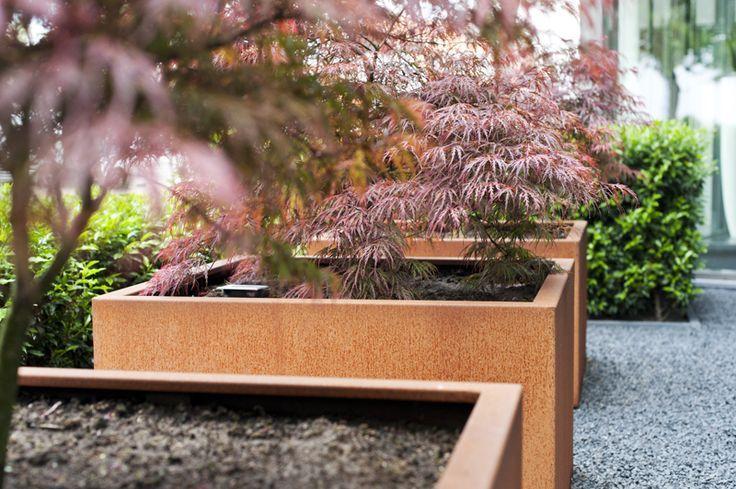 bloembak adezz cortenstaal andes in vele maten eliassen home garden pleasure. Black Bedroom Furniture Sets. Home Design Ideas