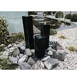 Eliassen Waterzuilen zwarte graniet 4 maten