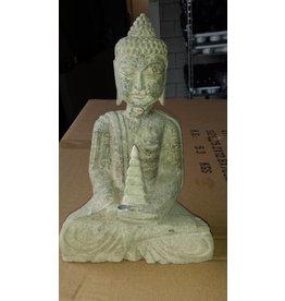 Boeddah beeld natuursteen 3 modellen
