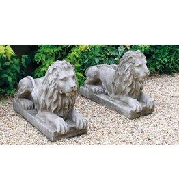 dragonstone Fantasy liegenden Löwen links